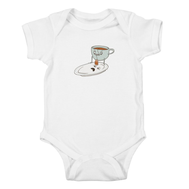Tea Baggin' Kids Baby Bodysuit by phildesignart's Artist Shop
