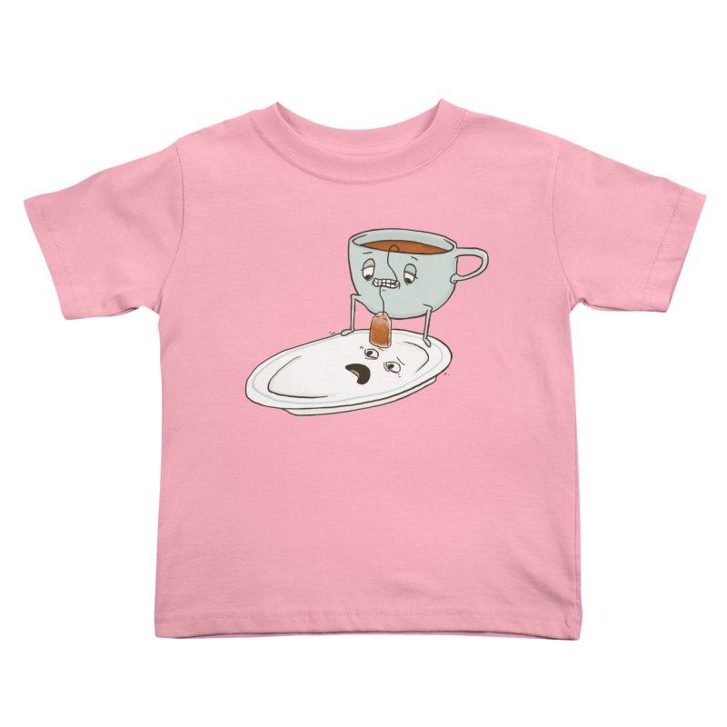 Tea Baggin' Kids Toddler T-Shirt by phildesignart's Artist Shop