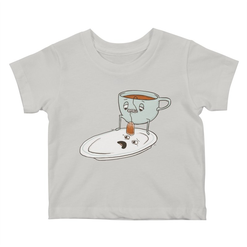 Tea Baggin' Kids Baby T-Shirt by Phildesignart