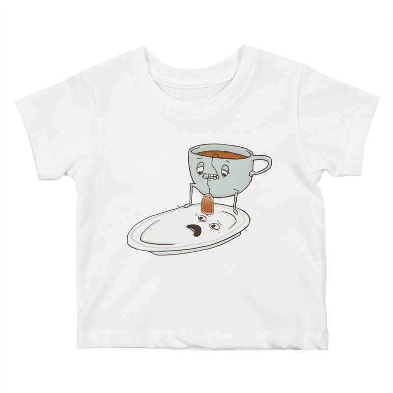 Tea Baggin' Kids Baby T-Shirt by phildesignart's Artist Shop