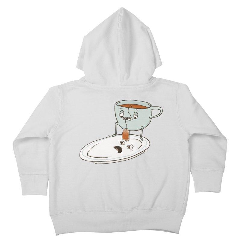 Tea Baggin' Kids Toddler Zip-Up Hoody by phildesignart's Artist Shop