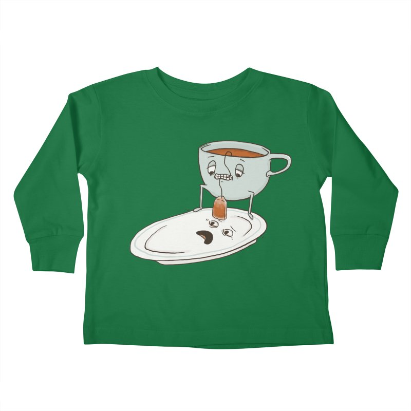Tea Baggin' Kids Toddler Longsleeve T-Shirt by phildesignart's Artist Shop