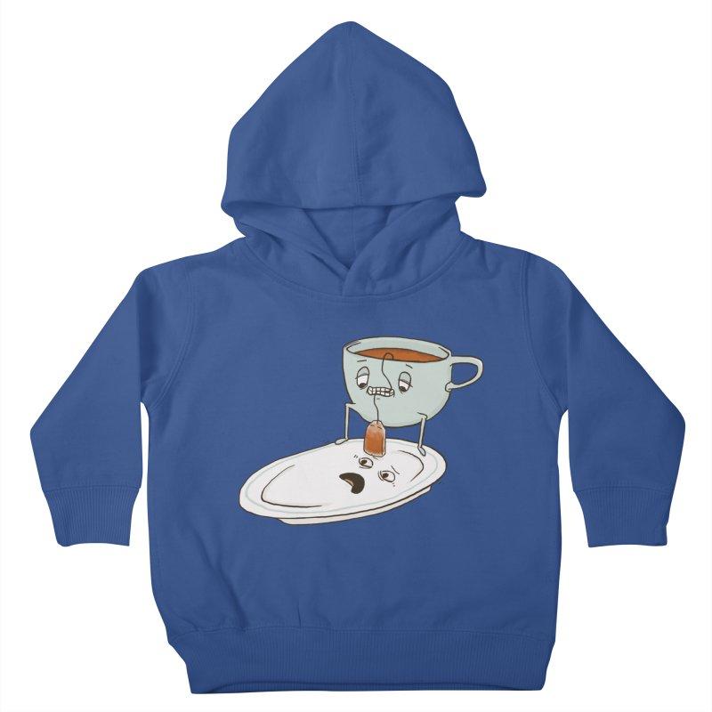 Tea Baggin' Kids Toddler Pullover Hoody by phildesignart's Artist Shop