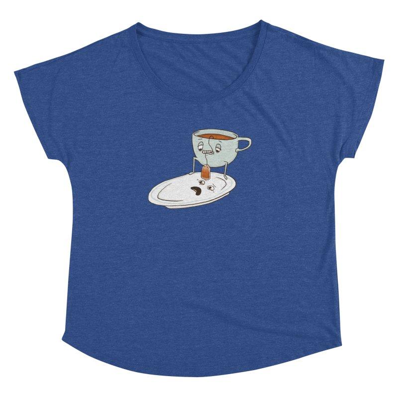 Tea Baggin' Women's Dolman Scoop Neck by Phildesignart