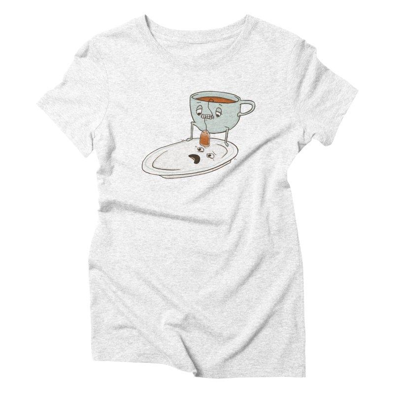 Tea Baggin' Women's Triblend T-shirt by phildesignart's Artist Shop