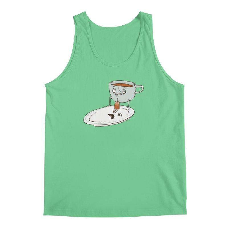 Tea Baggin' Men's Regular Tank by Phildesignart