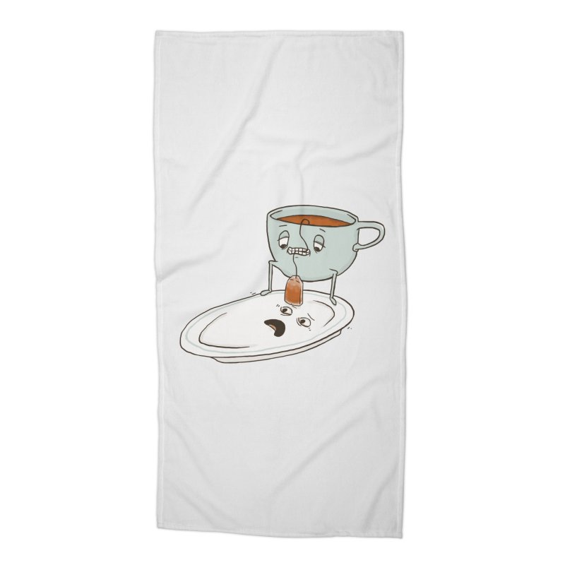 Tea Baggin' Accessories Beach Towel by Phildesignart