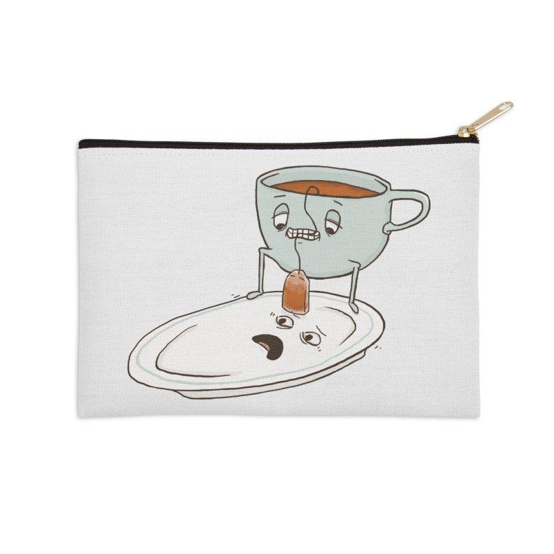 Tea Baggin' Accessories Zip Pouch by phildesignart's Artist Shop