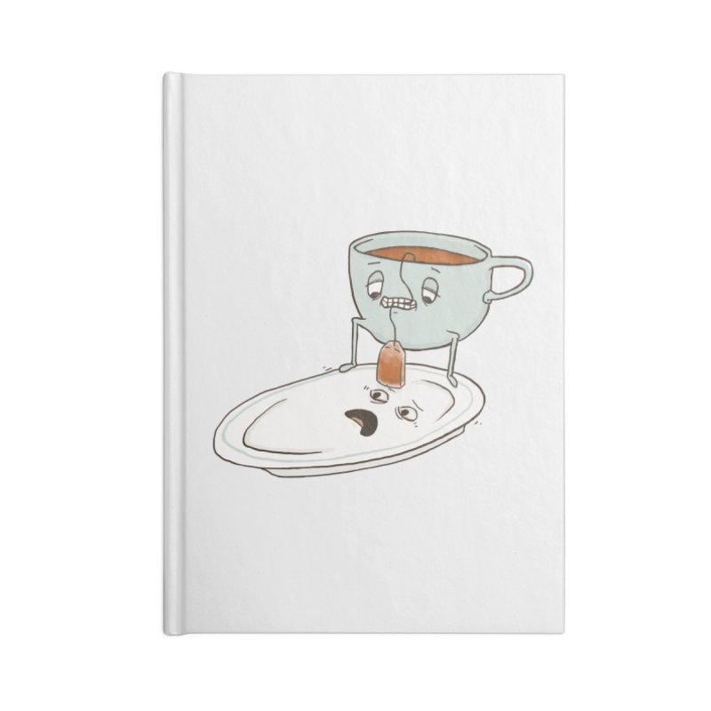 Tea Baggin' Accessories Notebook by Phildesignart