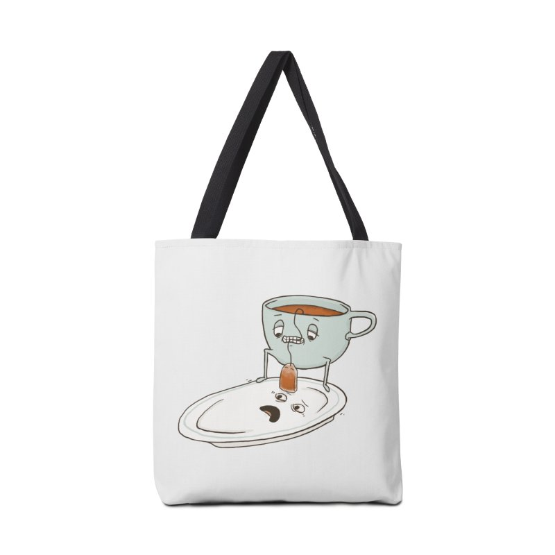 Tea Baggin' Accessories Bag by Phildesignart