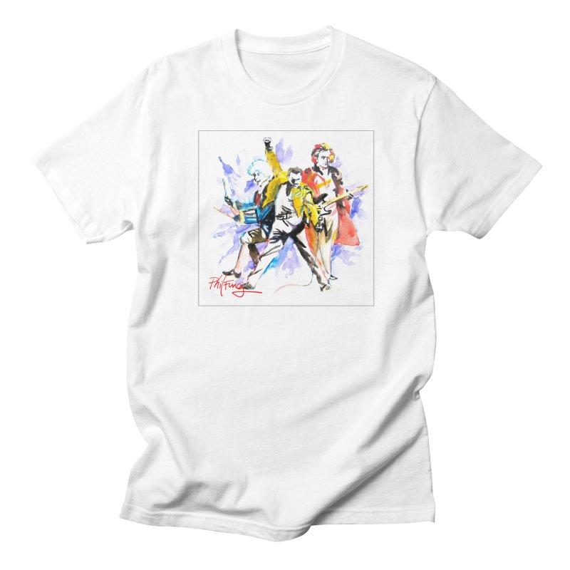 Classic Rock 2 Men's Regular T-Shirt by Phil Fung T-shirt Shop