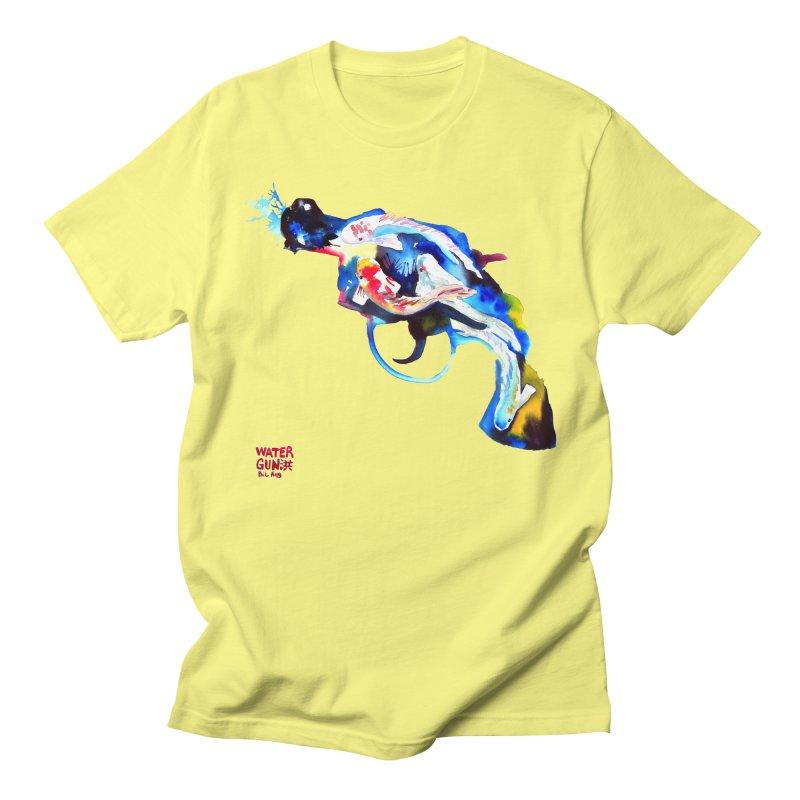 Watergun Men's Regular T-Shirt by Phil Fung T-shirt Shop