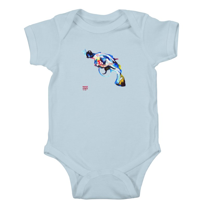 Watergun Kids Baby Bodysuit by Phil Fung T-shirt Shop