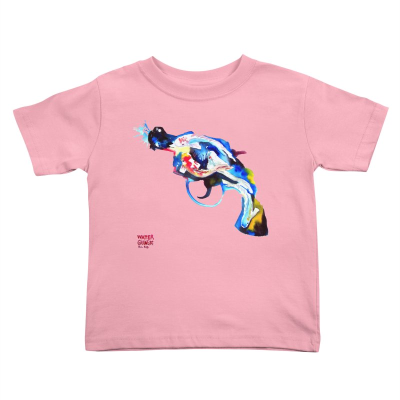 Watergun Kids Toddler T-Shirt by Phil Fung T-shirt Shop