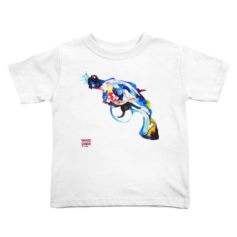 Watergun Kids Toddler T-Shirt by Phil Fung T-shirt Shop