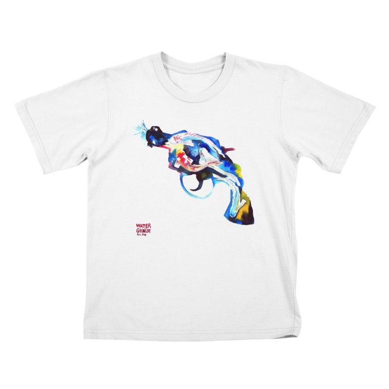 Watergun Kids T-Shirt by Phil Fung T-shirt Shop