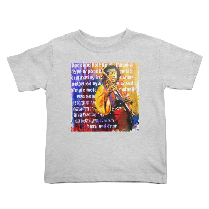 Definition of Rock & Roll Kids Toddler T-Shirt by Phil Fung T-shirt Shop
