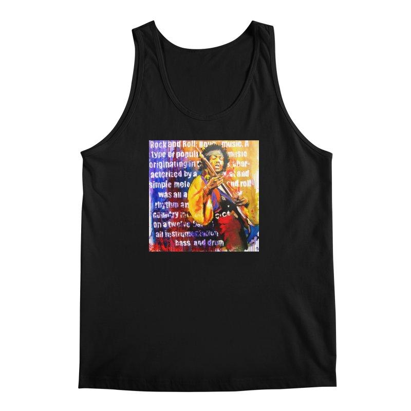 Definition of Rock & Roll Men's Regular Tank by Phil Fung T-shirt Shop