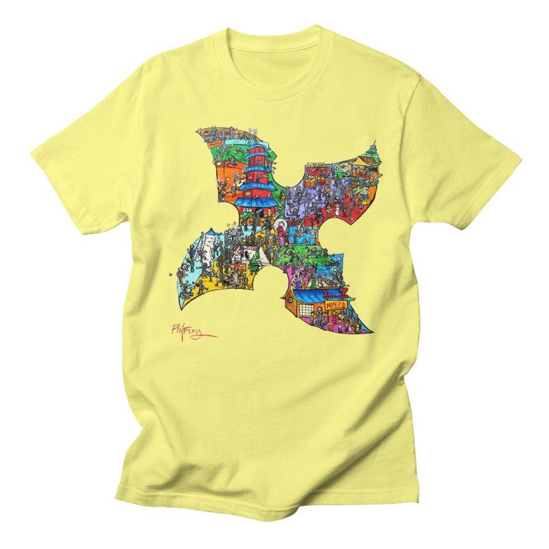 Ninja Pop Men's T-Shirt by Phil Fung T-shirt Shop