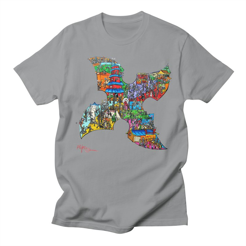 Ninja Pop Men's Regular T-Shirt by Phil Fung T-shirt Shop