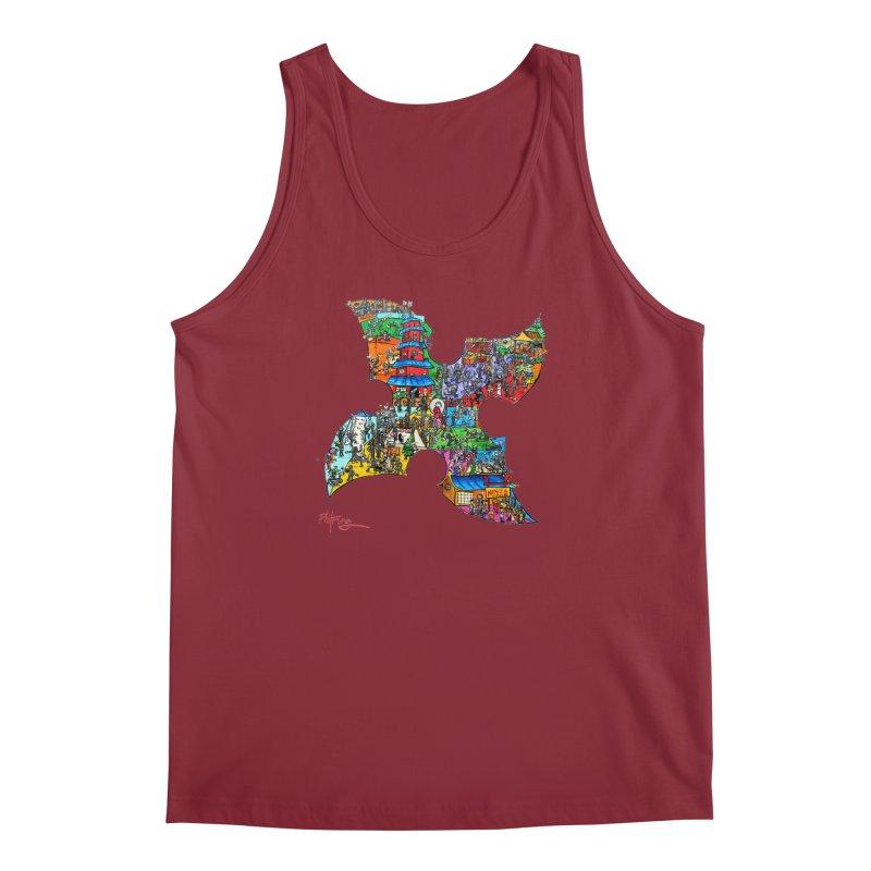 Ninja Pop Men's Regular Tank by Phil Fung T-shirt Shop