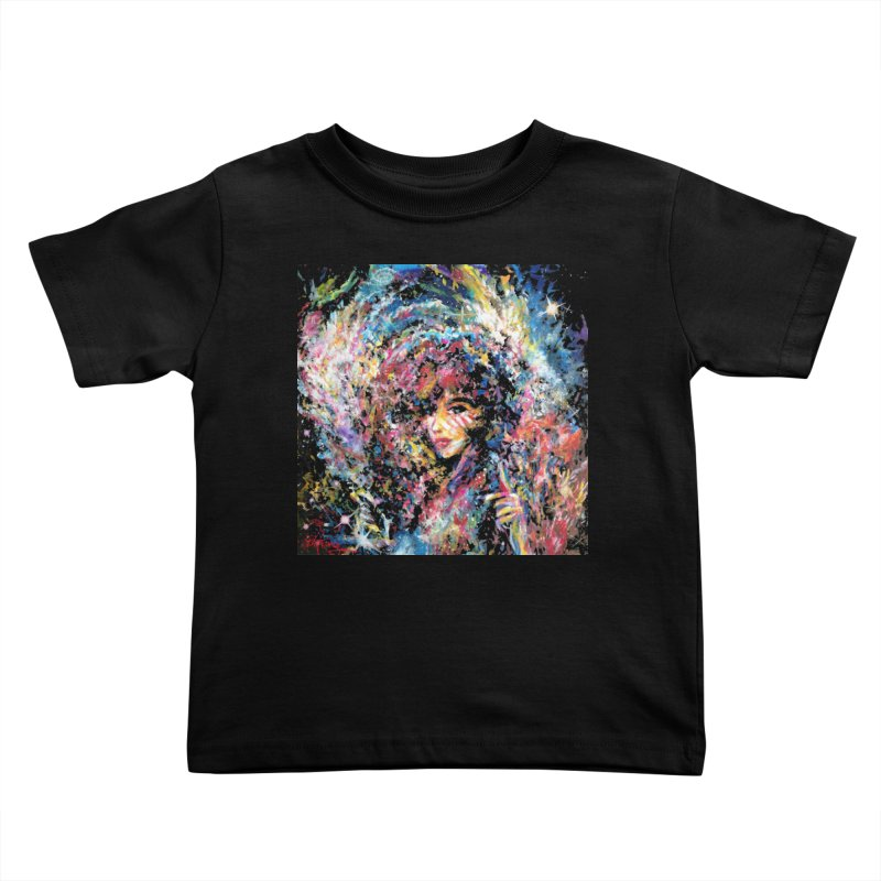 Supernova Stardust Kids Toddler T-Shirt by Phil Fung T-shirt Shop