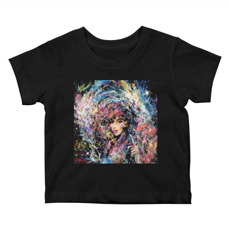 Supernova Stardust Kids Baby T-Shirt by Phil Fung T-shirt Shop