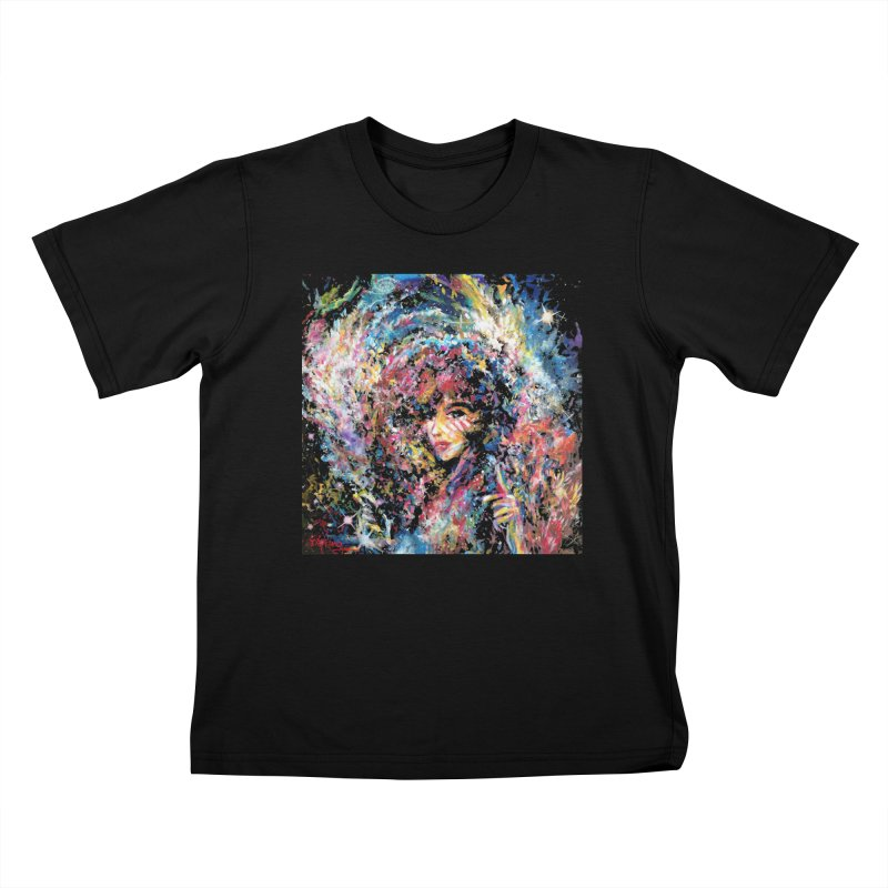 Supernova Stardust Kids T-Shirt by Phil Fung T-shirt Shop