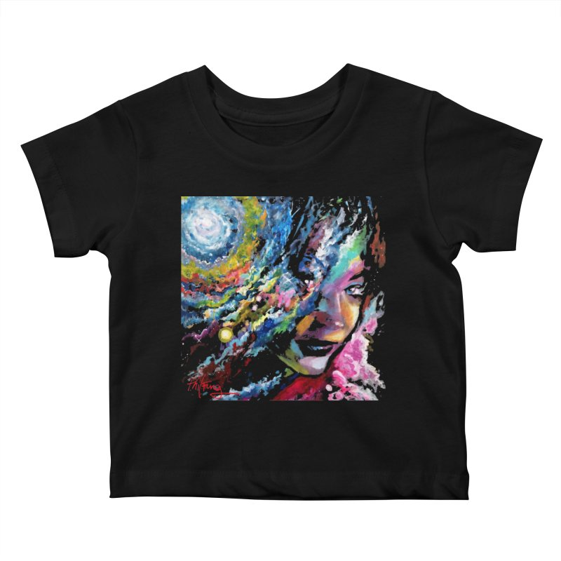 Sunkist Skin Kids Baby T-Shirt by Phil Fung T-shirt Shop