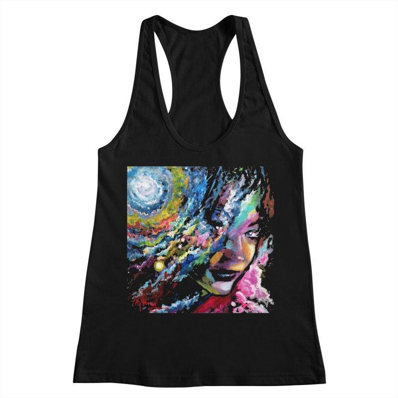 Sunkist Skin Women's Racerback Tank by Phil Fung T-shirt Shop