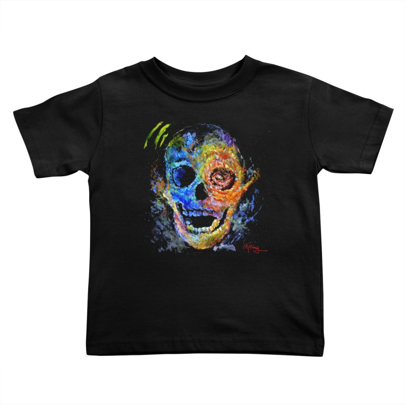 Skrull Kids Toddler T-Shirt by Phil Fung T-shirt Shop