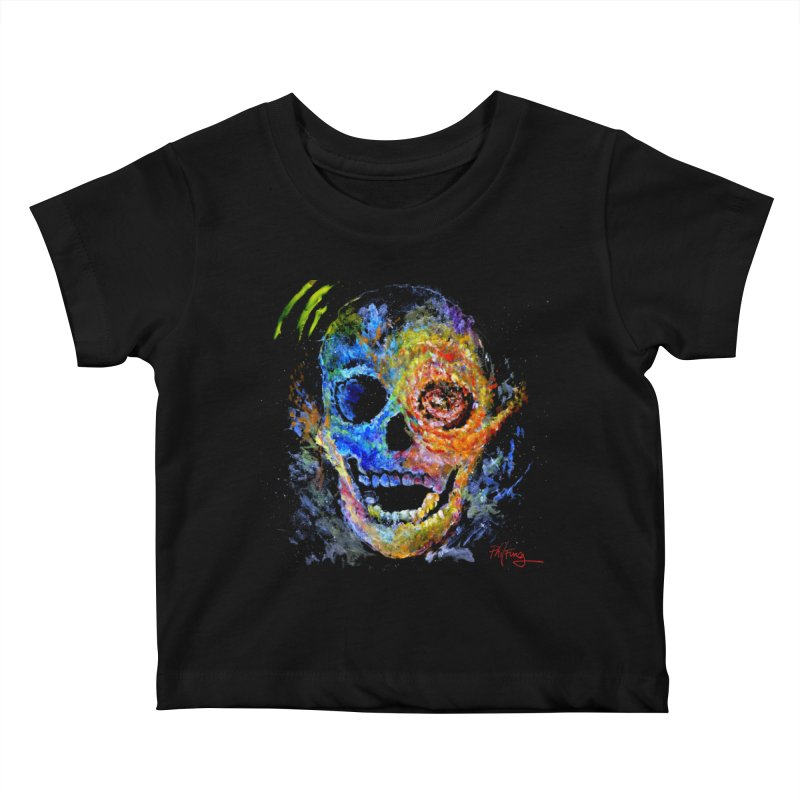 Skrull Kids Baby T-Shirt by Phil Fung T-shirt Shop