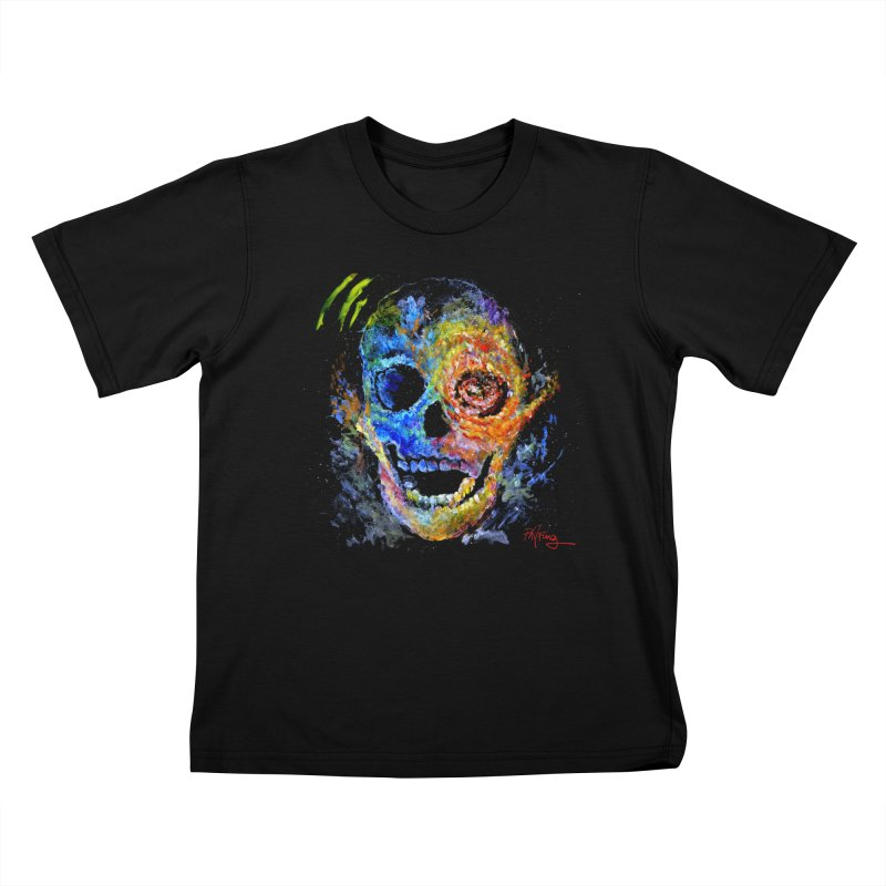 Skrull Kids T-Shirt by Phil Fung T-shirt Shop