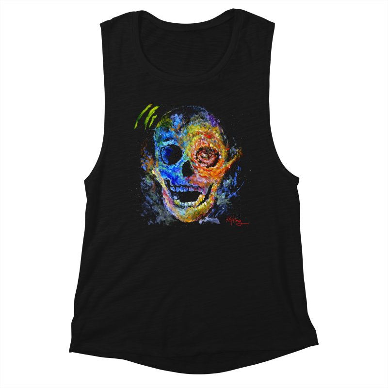 Skrull Women's Muscle Tank by Phil Fung T-shirt Shop
