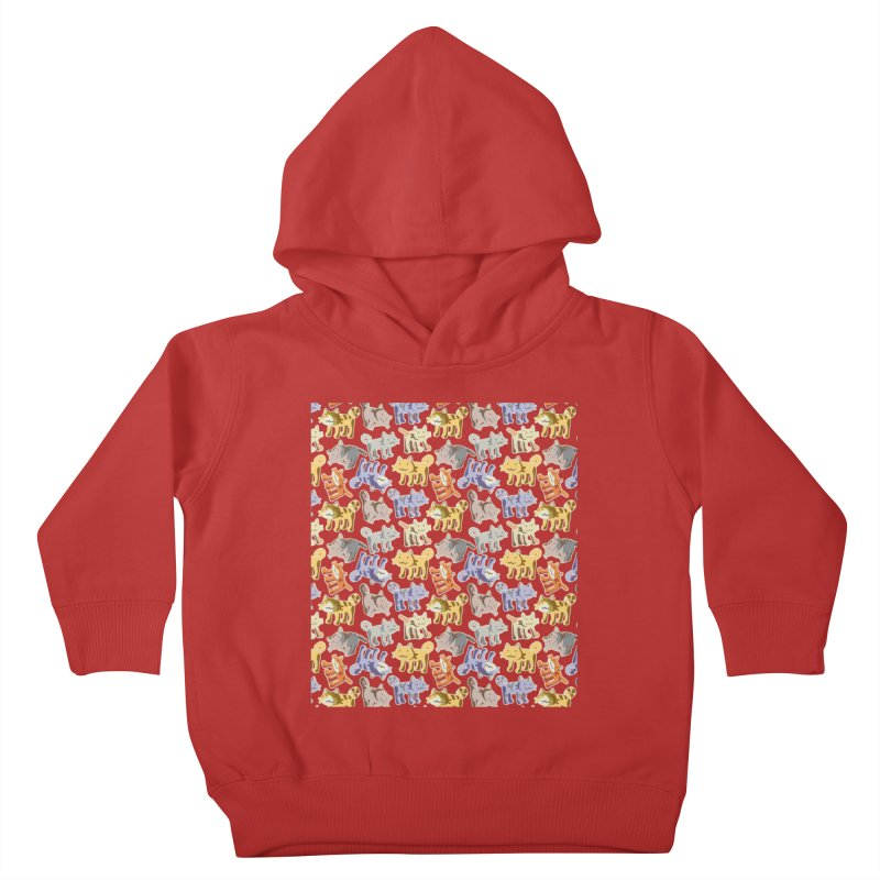 capetition Kids Toddler Pullover Hoody by graphi