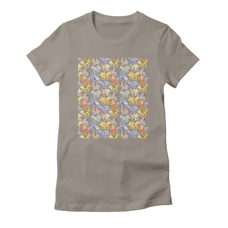 capetition Women's Fitted T-Shirt by graphi