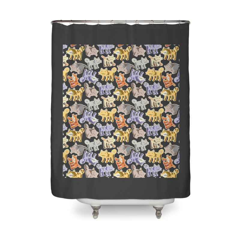 capetition Home Shower Curtain by graphi