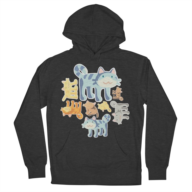 pastel_cats Men's Pullover Hoody by graphi