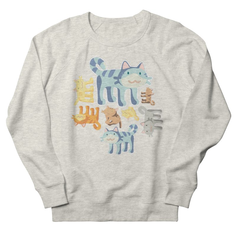 pastel_cats Women's Sweatshirt by graphi