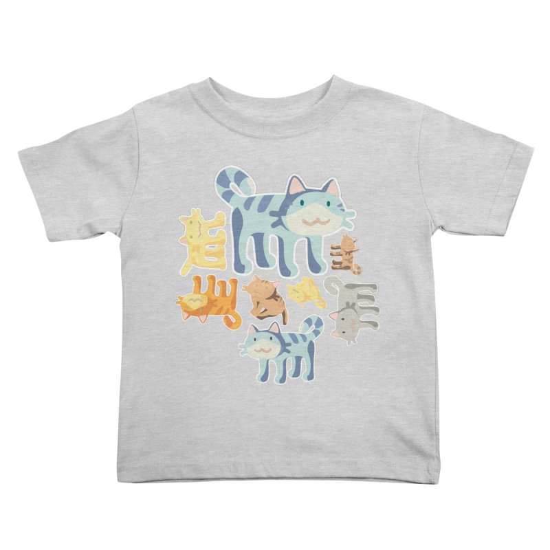 pastel_cats Kids Toddler T-Shirt by graphi