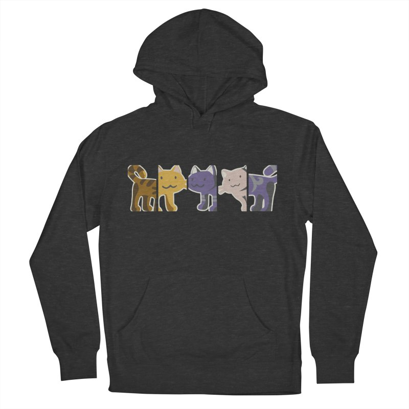 love_cats Women's French Terry Pullover Hoody by graphi