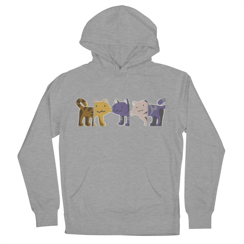 love_cats Men's French Terry Pullover Hoody by graphi