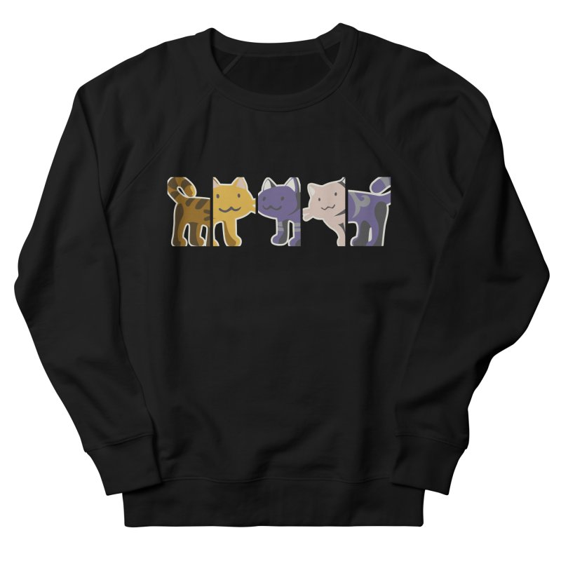 love_cats Women's French Terry Sweatshirt by graphi