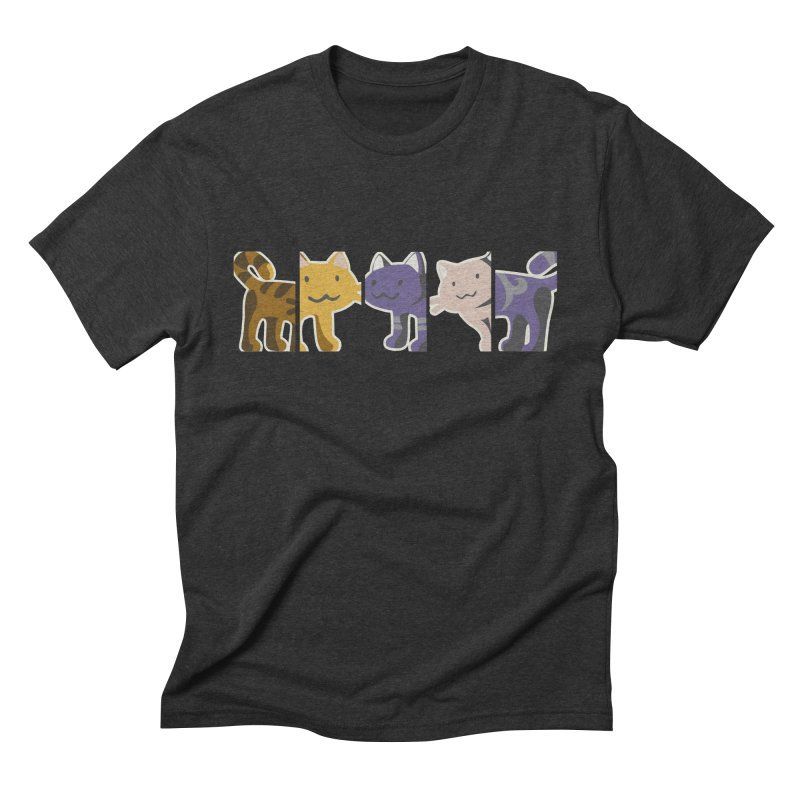 love_cats Men's Triblend T-Shirt by graphi