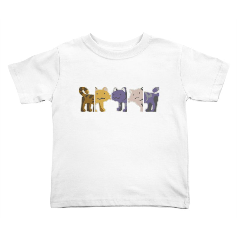 love_cats Kids Toddler T-Shirt by graphi