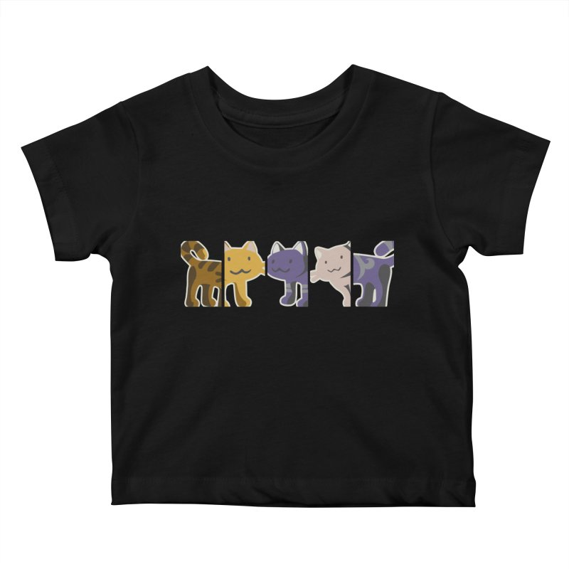 love_cats Kids Baby T-Shirt by graphi