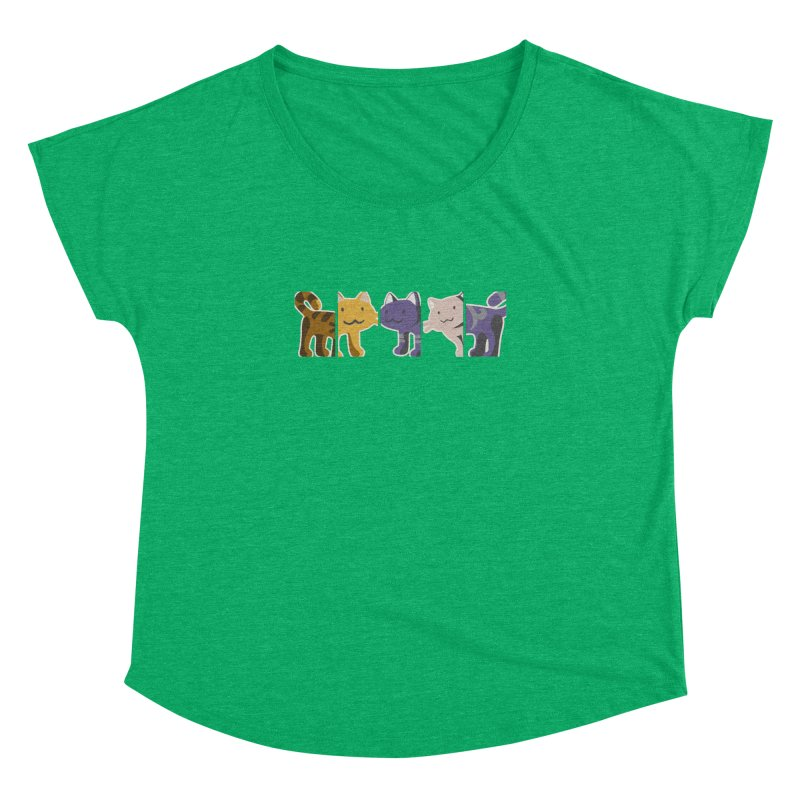 love_cats Women's Dolman by graphi