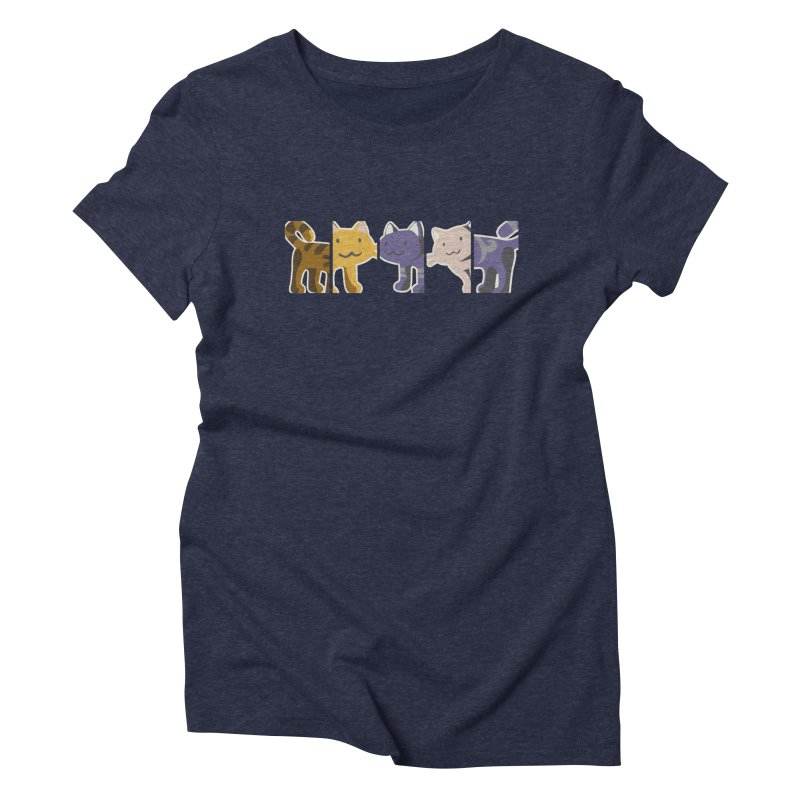 love_cats Women's Triblend T-shirt by graphi