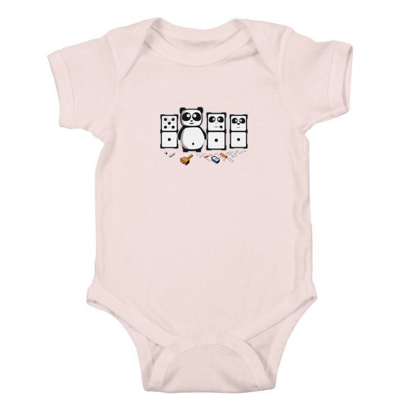 making_new_friends Kids Baby Bodysuit by graphi