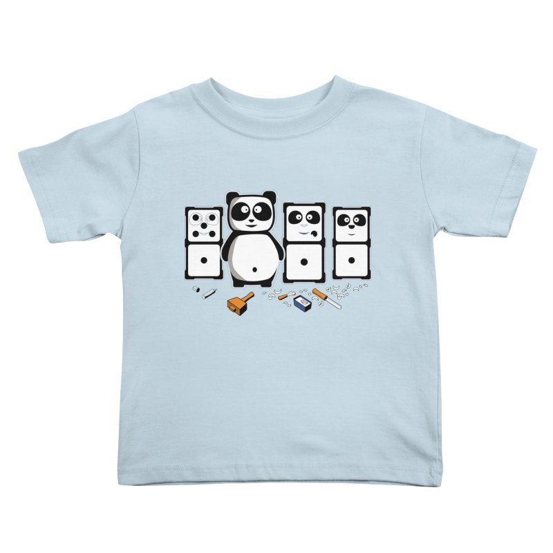 making_new_friends Kids Toddler T-Shirt by graphi